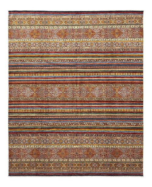 "Timeless Rug Designs CLOSEOUT! One of a Kind OOAK1120 Caramel 10'1"" x 13'1"" Area Rug"