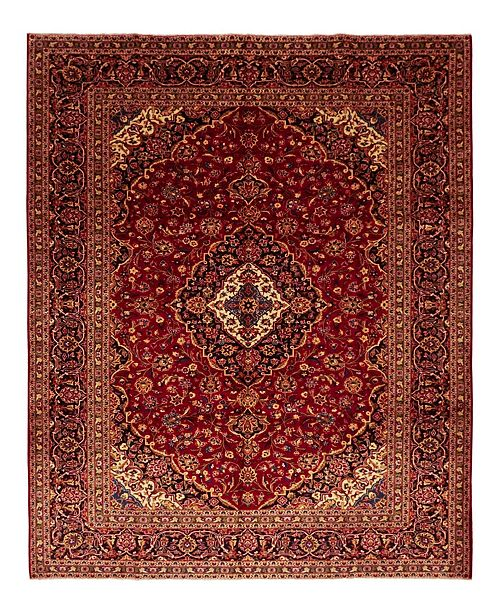 "Timeless Rug Designs CLOSEOUT! One of a Kind OOAK1549 Red 9'10"" x 13' Area Rug"