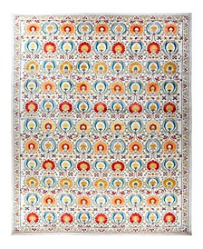 "CLOSEOUT! One of a Kind OOAK1785 Tangerine 12'3"" x 18'9"" Area Rug"