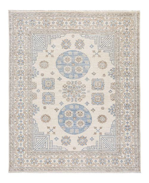 "Timeless Rug Designs CLOSEOUT! One of a Kind OOAK2033 Ivory 5'5"" x 7'2"" Area Rug"