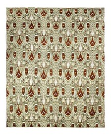 """One of a Kind OOAK2365 Olive 15'10"""" x 19'10"""" Area Rug"""
