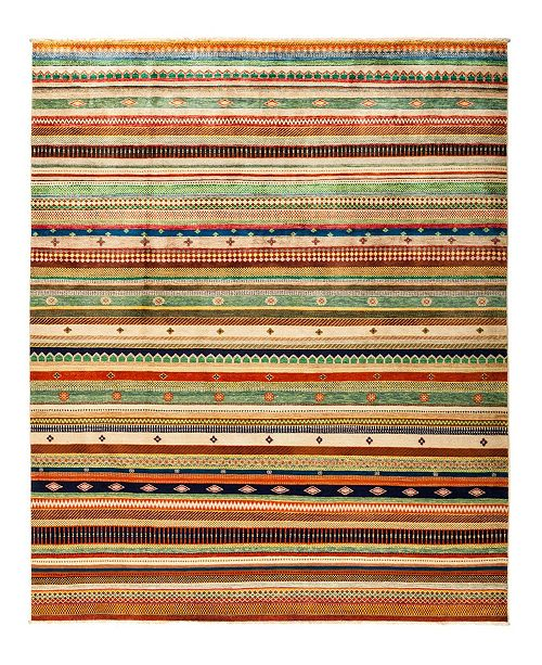 """Timeless Rug Designs CLOSEOUT! One of a Kind OOAK2837 Caramel 8'1"""" x 10' Area Rug"""