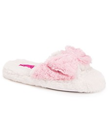 Women's Open Toe Scuff Slippers