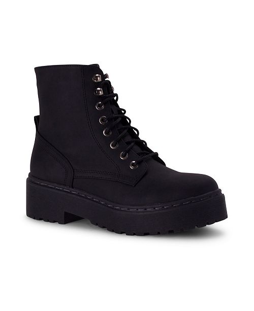 Wanted Walker Lace-Up Ankle Bootie