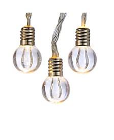 20-Light Transparent Glass Bead LED Light Set