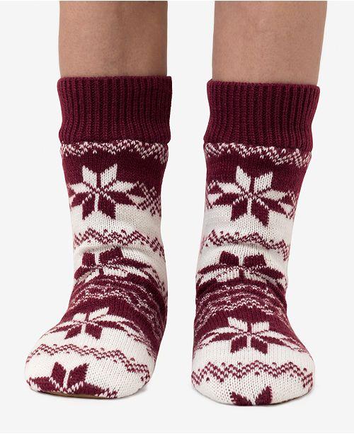 DKNY Fairisle Slipper Sock, Online Only