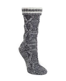 Varsity Stripe Slipper Sock, Online Only