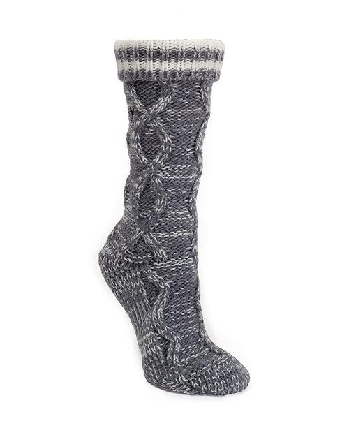 DKNY Varsity Stripe Slipper Sock, Online Only