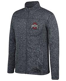 Men's Ohio State Buckeyes Pioneer Full-Zip Marled Sweater