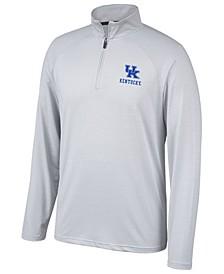 Men's Kentucky Wildcats Lowry Microstripe Quarter-Zip Pullover