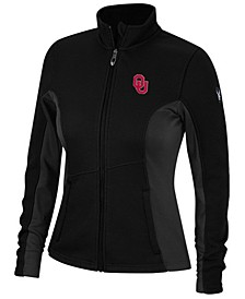 Spyder Women's Oklahoma Sooners Constant Full-Zip Sweater Jacket