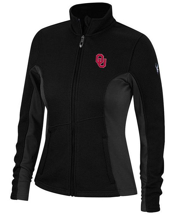 Lids Spyder Women's Oklahoma Sooners Constant Full-Zip Sweater Jacket