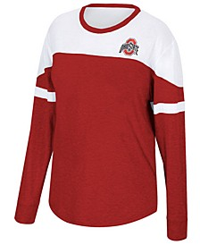 Women's Ohio State Buckeyes Downfield Long Sleeve T-Shirt
