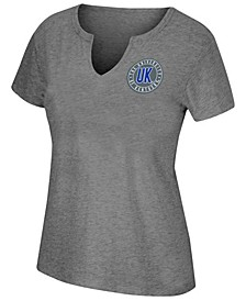 Women's Kentucky Wildcats Notch Neck T-Shirt