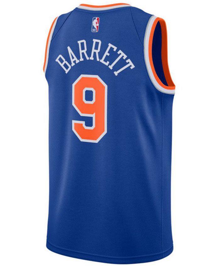 Nike Men's RJ Barrett New York Knicks Icon Swingman Jersey & Reviews - Sports Fan Shop By Lids - Men - Macy's