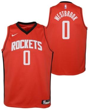 Nike Big Boys Russell Westbrook Houston Rockets Icon Swingman Jersey