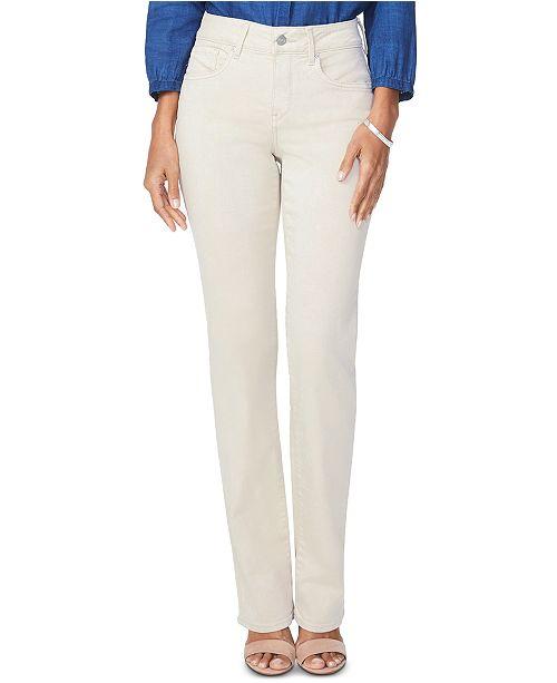 NYDJ Tummy-Control Marilyn Straight-Leg Jeans