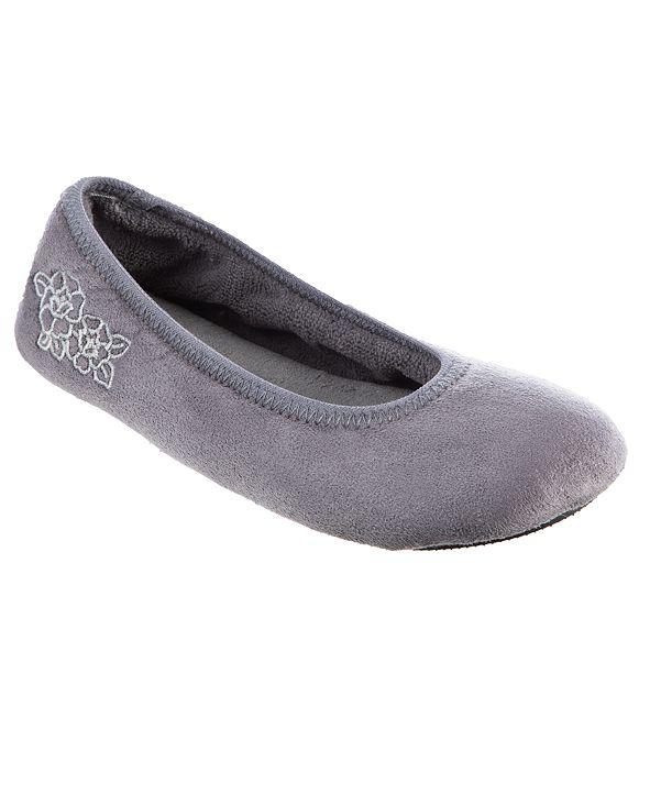 Isotoner Signature Women's Brianna Ballerina Slippers