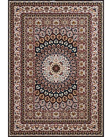 "Antiquities Jaipur 1900 01664 33 Navy 2'7"" x 3'11"" Area Rug"