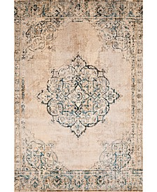 "Jules Opal 3000 00419 24 Cream 1'10"" x 3' Area Rug"