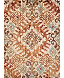 "Bridges Verazanno 3001 00236 1215 Crimson 12'6"" x 15' Area Rug"