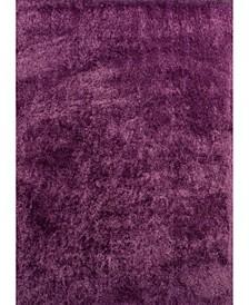 """Bliss Nubia 2300 00117 33 Purple 2'7"""" x 3'11"""" Area Rug"""