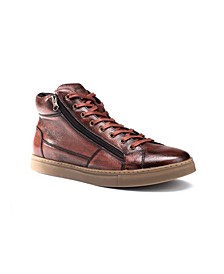 Men's Baltazar High Top with Side Zipper Sneaker