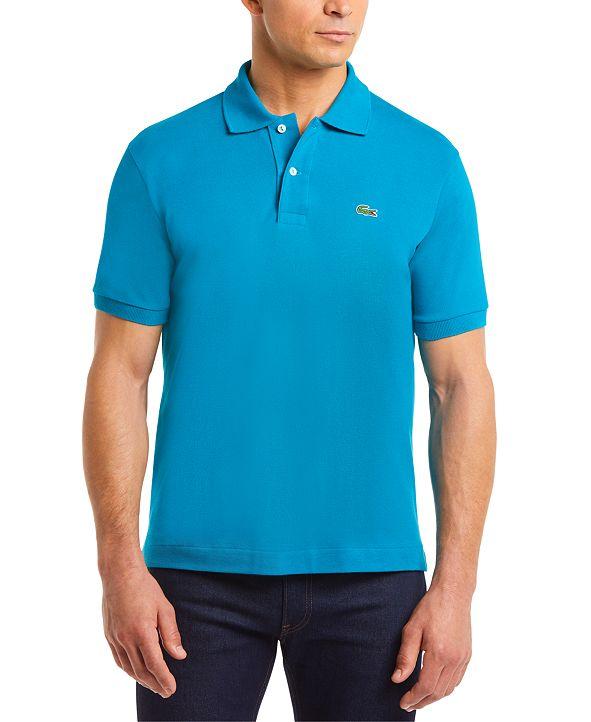 Lacoste Men's Classic Fit Pique Polo Shirt, L.12.12