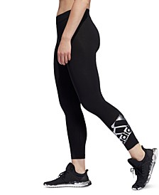Metallic-Logo Leggings