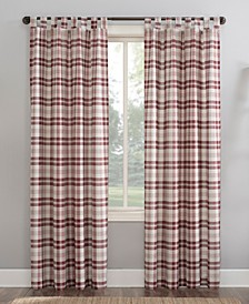 Blair Farmhouse Plaid Semi-Sheer Curtain Collection