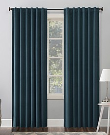 "Amherst Velvet 50"" x 63"" Thermal Blackout Curtain Panel"