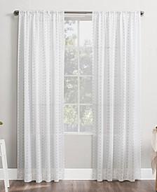 """No. 918 Petani Swiss Dot 52"""" x 84"""" Semi-Sheer Curtain Panel"""