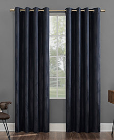Beck Textured Geometric Thermal Extreme Blackout Curtain Collection