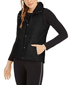Fleece-Collar Vest