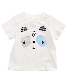 Toddler Boys Panda-Print T-Shirt, Created for Macy's