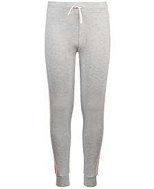 Big Girls Side-Stripe Sweatpants, Created for Macy's