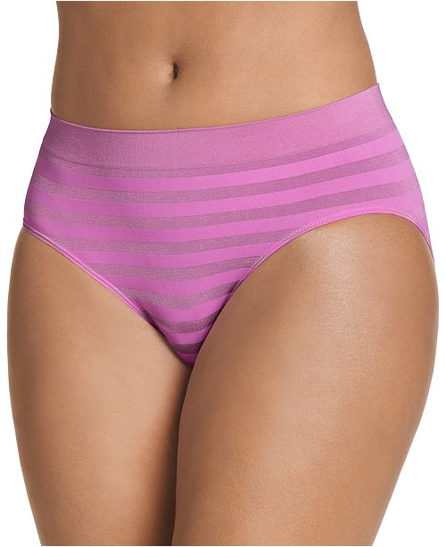 Jockey Matte and Shine Hipster Underwear 1307, also available in extended sizes