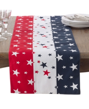 Fourth of July table runner by Saro Lifestyle
