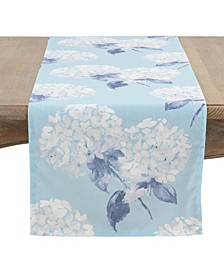 Hydrangea Garden Table Runner