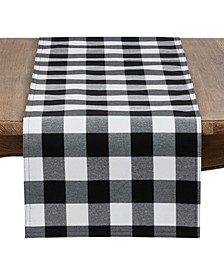 Buffalo Plaid Cotton Blend Table Runner