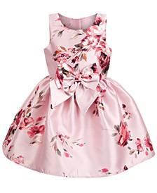Little Girls Mikado Bow Dress