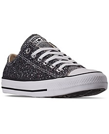 Women's Chuck Taylor All Star Galaxy Dust Ox Low Top Casual Sneakers from Finish Line