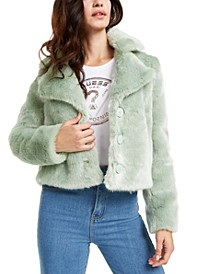 Minted Faux-Fur Coat