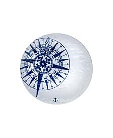 Compass Melamine 15in Platter