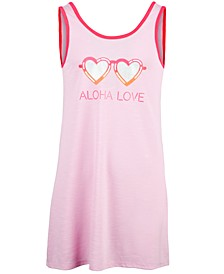 Big Girls Aloha Love-Print Cover-Up, Created for Macy's