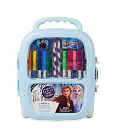 Frozen II Color And Roll Stationary Set