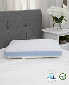 Cold Touch Gusseted Gel-Infused Memory Foam Pillow - Oversized