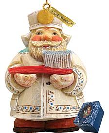 Dentist Santa Ornament