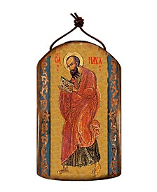 Saint Paul Wooden Greek Christian Orthodox Icon Ornament