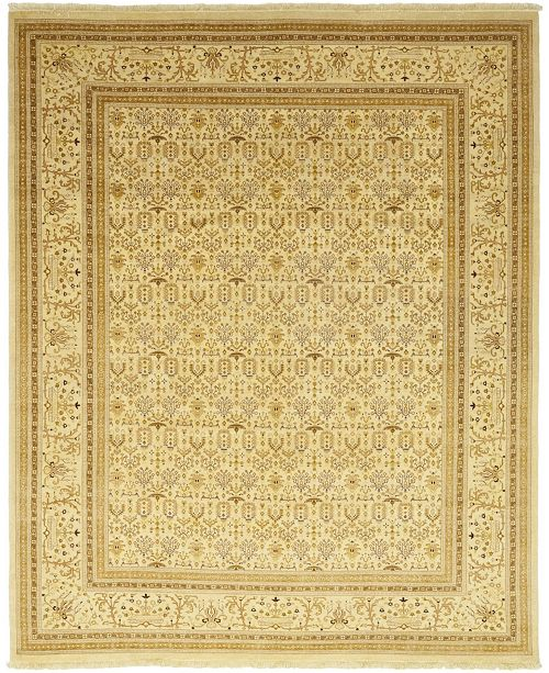 """Timeless Rug Designs CLOSEOUT! One of a Kind OOAK73 Flax 9'3"""" x 11'4"""" Area Rug"""